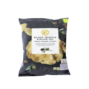 Black Truffle & Olive Oil Hand Cooked Crisps 150g