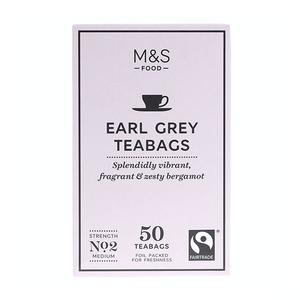 Fairtrade Earl Grey Teabags 125g