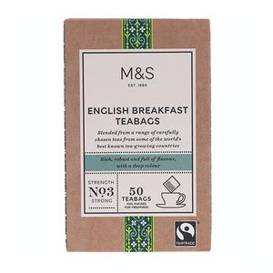 English  Breakfast Teabags 125g