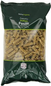 Suma Wholewheat Fusilli 500g