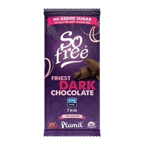 So Free Finest Dark Chocolate 80g
