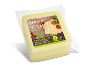 Kolios Vegan Cheese Slices Classic 200g