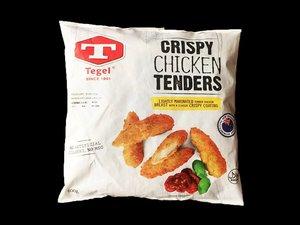Tegel New Zealand Frozen Crispy Chicken Tender 600g