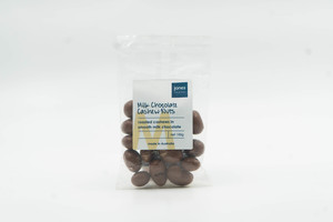 Jones Milk Chocolate Cashew 100g