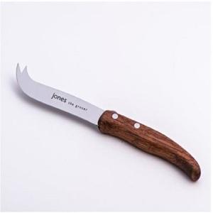 Jones Exotic Wood Handle Cheese Knife 1pc