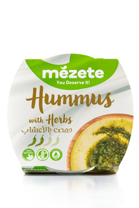 Mezete Hummus With Herbs 215g