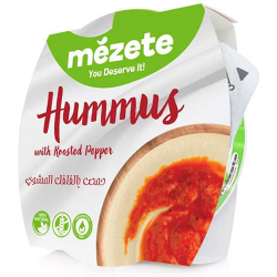 Mezete Hummus With Roasted Pepper 1kg