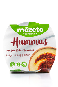 Mezete Hummus With Sundried Tomato 215g