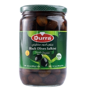 Durra Black Olive Salainy 650g