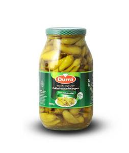 Durra Pickled Mexican Hot Peppers 600g