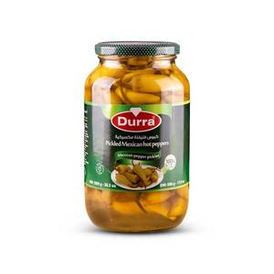 Durra Pickled Mexican Hot Peppers 1000g