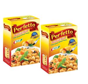 Perfetto Pasta Fischioni Rigati 2x500g