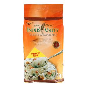 Indus Valley Basmati Rice 5kg