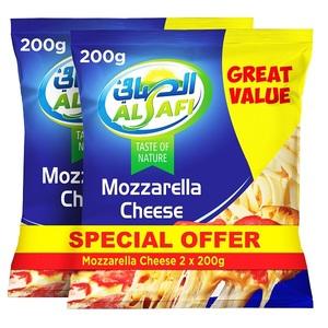 Al Safi Mozzarella Cheese 2x200g
