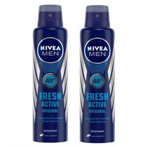 Nivea Deo Spray Men Fresh Ocean 2x150ml