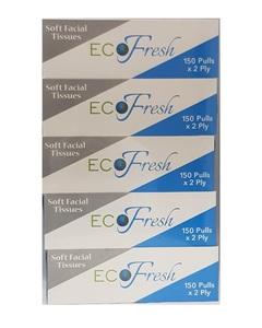 Eco Fresh Facial Tissue 5x150s