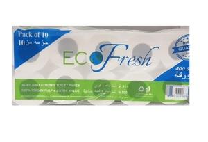 Eco Fresh Toilet Roll 2x400sx10s