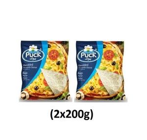 Puck Shredded Mozzarella 2x200g