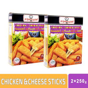 Al Kabeer Chicken Cheese Stick 2x250g