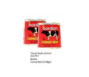 Bordon Corned Beef 2x198g