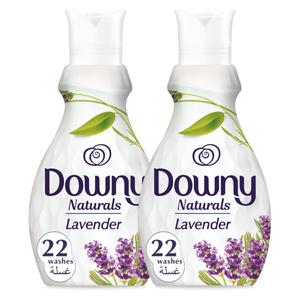 Downy Naturals Concentrate Fabric Softener Lavender Scent 2x880ml