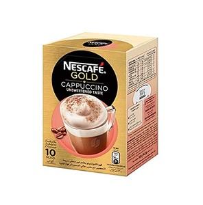 Nescafe Gold Cappuccino Unsweetened 12x14.2g