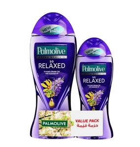 Palmolive So Relax Shower Gel 500ml+250ml