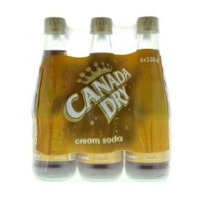 Canada Dry Cream Soda 6x330ml