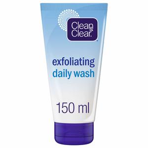 Clean & Clear Exfoliating Daily Wash 2x150ml