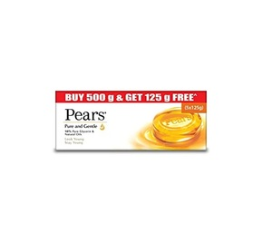 Pears Pure & Gentle Soap 4x125g