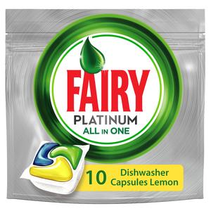 Fairy Platinum Auto Dishwash All In One 10s