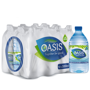Oasis Mineral Drinking Water Special Offer 12x330ml