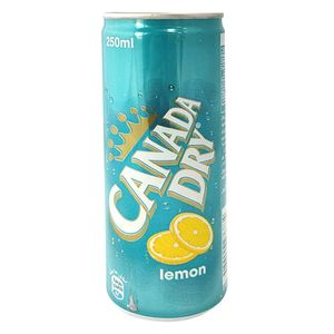 Canada Dry Lemon Can 6x250ml