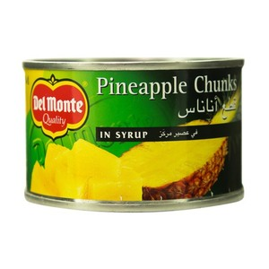 DelMonte Pineapple Chunks In Syrup 4x234g