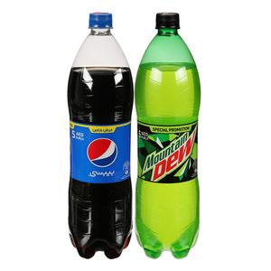 Pepsi & Mountain Dew 2x1.5L