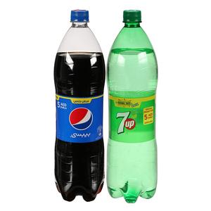 Pepsi & 7up 2x1.5L