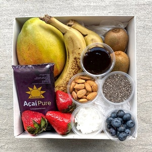 The Organic Acai, Fresh Tropical Fruit & Chia Breakfast Serves 2