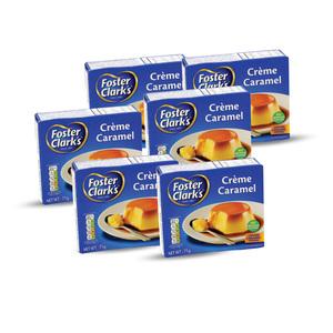 Foster Clark Creme Caramel 6x71g