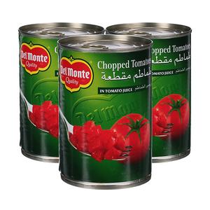 Delmonte Chopped Tomatoes 3x400g
