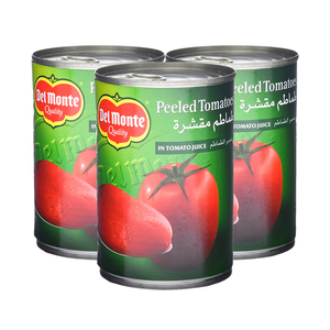 Delmonte Pealed Tomatoes In Juice 3x397g