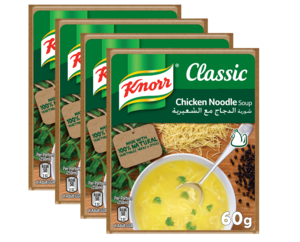 Knorr Chicken Noodle Soup 4x60g