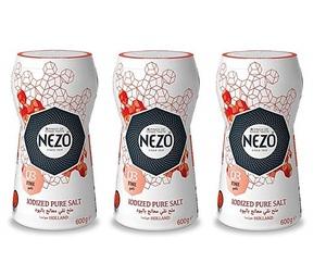 Nezo Fine Salt 3x600g