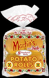Martin's 4 Inch Potato Rolls 12 rolls