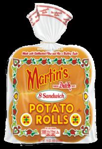 Martin's 3.5 Inch Sandwich Potato Rolls 8 rolls