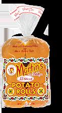 Martin's Rolls 3 Inch 12-Sliced Potato Rolls 12 rolls