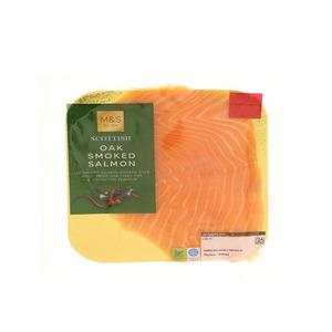 Oak Smoked Salmon 4 Slice 100g