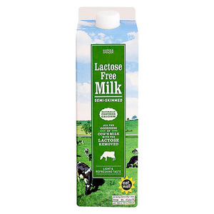 Lactose Free Semi Skimmed Milk 1L