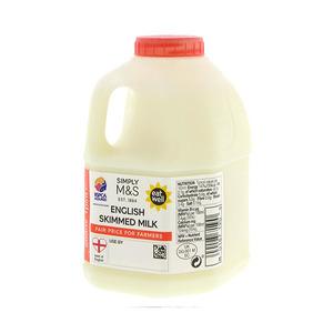 British Skimmed Milk 1 Pint 568ml