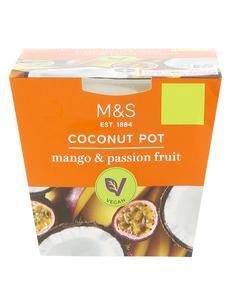 Mango & Passion Fruit Coconut Pot 120g