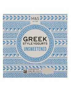 Greek Style Yoghurts Unsweetened Multipack 500g